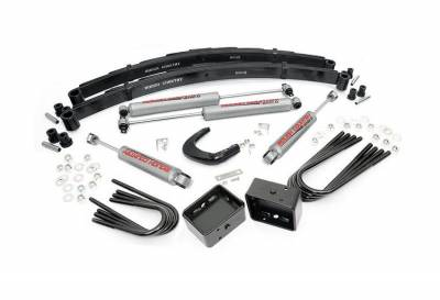 """Rough Country Suspension Systems - Rough Country 145.20 4.0"""" Suspension Lift Kit"""