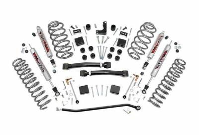 """Rough Country Suspension Systems - Rough Country 639P 4.0"""" X-Series Suspension Lift Kit"""
