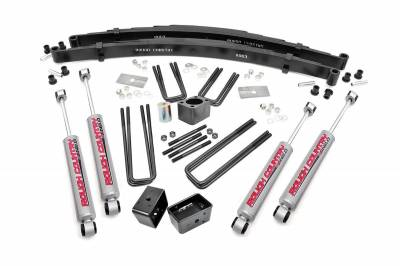 """Rough Country Suspension Systems - Rough Country 306.20 4.0"""" Suspension Lift Kit"""