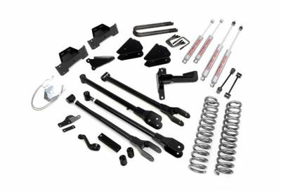"""Rough Country Suspension Systems - Rough Country 592.20 8.0"""" 4-Link Suspension Lift Kit"""