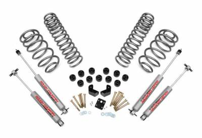 """Rough Country Suspension Systems - Rough Country 646.20 3.75"""" Suspension/Body Lift Combo Kit"""