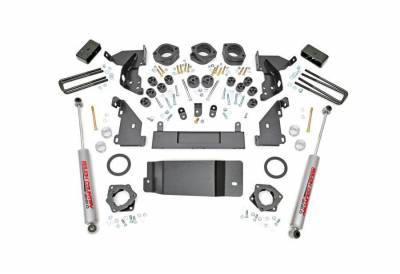 """Rough Country Suspension Systems - Rough Country 293.20 4.75"""" Suspension/Body Lift Kit"""