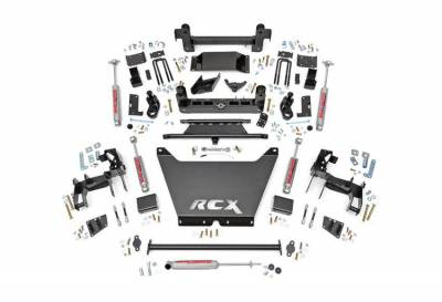 """Rough Country Suspension Systems - Rough Country 244.20 6.0"""" Non-Torsion Drop Suspension Lift Kit"""