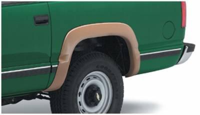 Bushwacker - Bushwacker 40028-01 OE-Style Rear Fender Flares-Black
