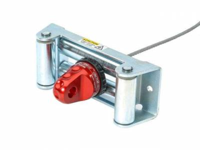 Factor 55 - Factor 55 00110-01 Prolink XTV Loaded Winch Shackle Mount Red w/Titanium Pin