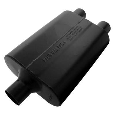Flowmaster - Flowmaster 9424472 Super 44 Series Muffler, Center/Dual; Aluminized
