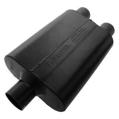 Flowmaster - Flowmaster 9425472 Super 44 Series Muffler, Center/Dual; Aluminized