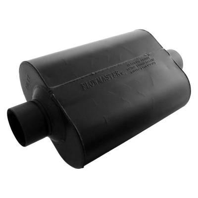 Flowmaster - Flowmaster 943045 Super 44 Series Muffler, Center/Center; Aluminized