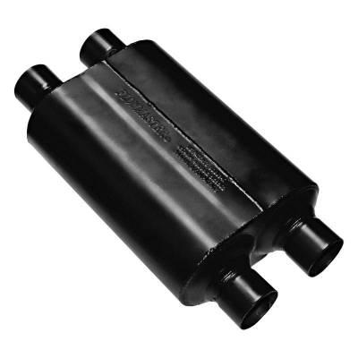 Flowmaster - Flowmaster 9525454 Super 40 Series Muffler, Dual/Dual; Aluminized