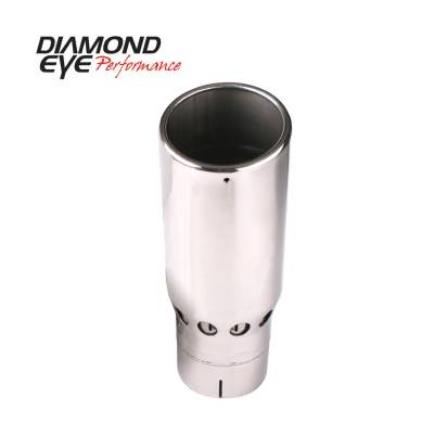 "Diamond Eye - Diamond Eye 4516VRA Tip Vented Rolled Angle 4"" Id X 5"" Od X 16"" Long 304 Stainle"
