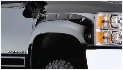Bushwacker - Bushwacker 40087-02 Pocket Style Front Fender Flares-Black