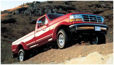 Bushwacker - Bushwacker 20021-11 Cut-Out Front Fender Flares-Black