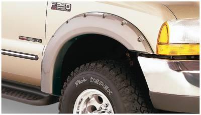 Bushwacker - Bushwacker 20049-02 Pocket Style Front Fender Flares-Black