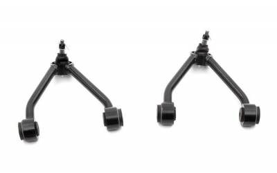 """Rough Country Suspension Systems - Rough Country 7546 Front Upper Control Arms fits 2""""-3"""" Lifts"""