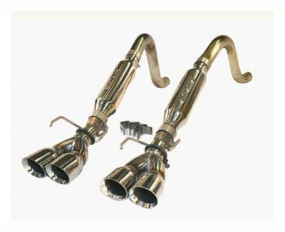 """SLP Performance - SLP Performance 31077 LoudMouth Stainless 2.5"""" Axle-Back Exhaust System"""
