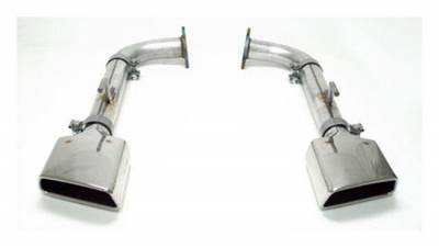 """SLP Performance - SLP Performance 31191 LoudMouth Stainless 2.5"""" Axle-Back Exhaust System"""