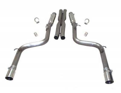 """SLP Performance - SLP Performance D31005 LoudMouth II Stainless 3.0"""" Cat-Back Exhaust System"""
