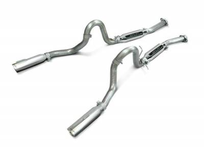 """SLP Performance - SLP Performance M31007 LoudMouth Stainless 2.5"""" Cat-Back Exhaust System"""