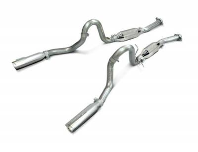 """SLP Performance - SLP Performance M31007A LoudMouth II Stainless 2.5"""" Cat-Back Exhaust System"""