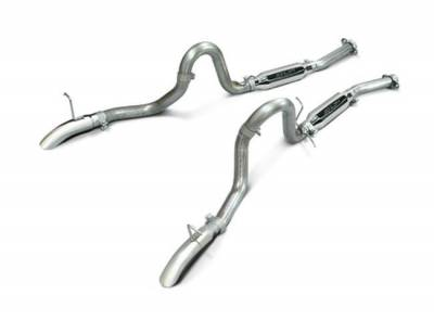 """SLP Performance - SLP Performance M31016 LoudMouth Stainless 2.5"""" Cat-Back Exhaust System"""