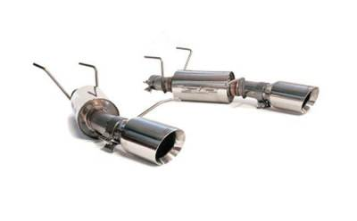 """SLP Performance - SLP Performance M31024 PowerFlo Stainless 2.5"""" Axle-Back Exhaust System"""