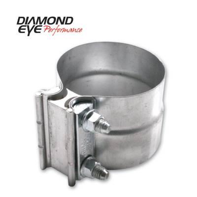 "Diamond Eye - Diamond Eye L40AA Clamp Torca Lap Joint Clamp 4"" Aluminized"