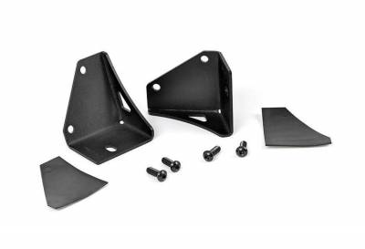 Rough Country Suspension Systems - Rough Country 70510 Lower Windshield Pillar Light Mounts