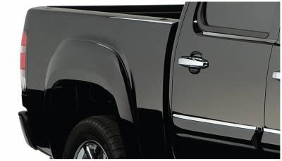 Bushwacker - Bushwacker 40082-02 OE-Style Rear Fender Flares-Black