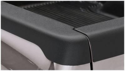 Bushwacker - Bushwacker 58513 Smoothback Side Bed Rail Caps w/o Holes-Black