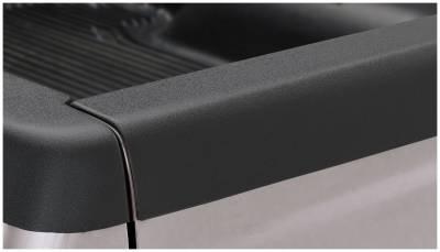 Bushwacker - Bushwacker 58505 Smoothback Rear Tailgate Cap-Black