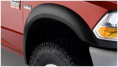Bushwacker - Bushwacker 50045-02 Extend-a-Fender Front Fender Flares-Black