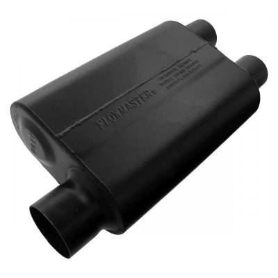 Flowmaster - Flowmaster 9430462 Super 44 Series Muffler, Offset/Dual; Aluminized