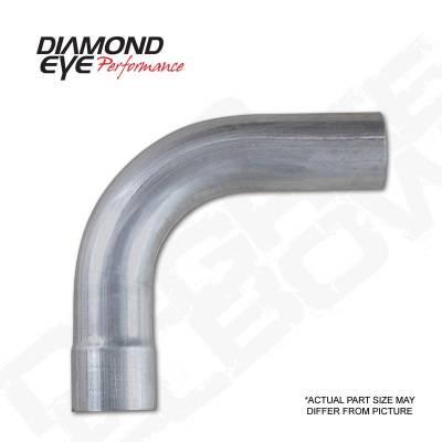 """Diamond Eye - Diamond Eye 529005 Elbow 3"""" 90 Degrees Aluminized"""