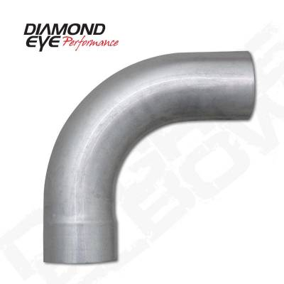 """Diamond Eye - Diamond Eye 529026 Elbow 5"""" 90 Degrees 409 Stainless Steel"""