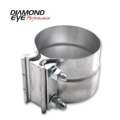 "Diamond Eye - Diamond Eye L25AA Clamp Torca Lap Joint Clamp 2.5"" Aluminized"
