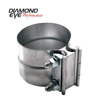 "Diamond Eye - Diamond Eye L40SA Clamp Torca Lap Joint Clamp 4"" 304 Stainless Steel"