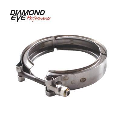 Diamond Eye - Diamond Eye VC400HX40 V-band Clamp For Hx40 Turbo Stainless Steel