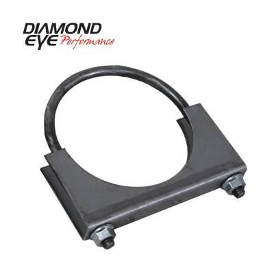 "Diamond Eye - Diamond Eye 444000 Clamp U-bolt Stlye 4"" Standard Steel"