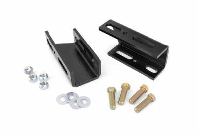 """Rough Country Suspension Systems - Rough Country 1019 Front Sway Bar Drop Brackets w/ 2""""-6"""" Lift Pair"""