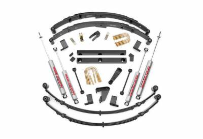 """Rough Country Suspension Systems - Rough Country 620MN2 4.0"""" Suspension Lift Kit"""