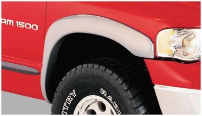 Bushwacker - Bushwacker 50015-02 OE-Style Front Fender Flares-Black