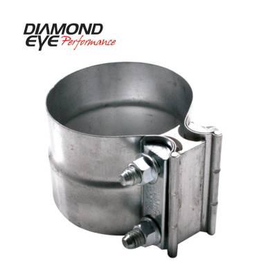 "Diamond Eye - Diamond Eye L22SA Clamp Torca Lap Joint Clamp 2.25"" 304 Stainless Steel"