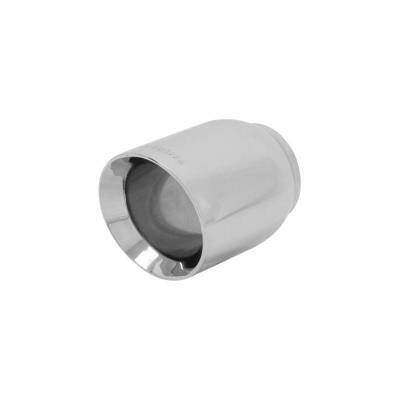 Flowmaster - Flowmaster 15392 Exhaust Pipe Tip Round Polished Stainless Steel