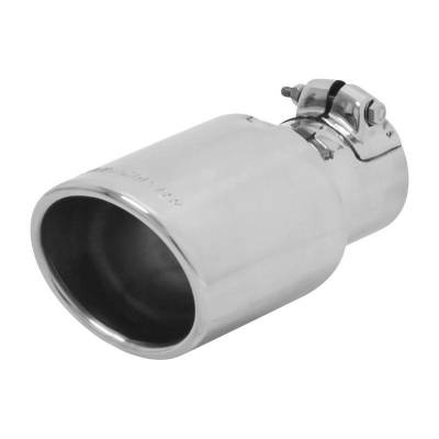 Flowmaster - Flowmaster 15388 Exhaust Pipe Tip Oval Polished Stainless Steel