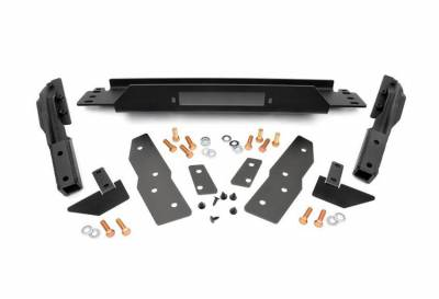 Rough Country Suspension Systems - Rough Country 1064 Front Winch Mounting Plate