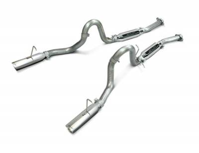 """SLP Performance - SLP Performance M31015 LoudMouth Stainless 2.5"""" Cat-Back Exhaust System"""