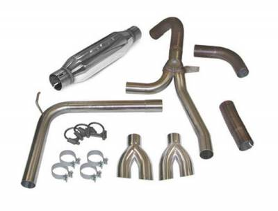 """SLP Performance - SLP Performance 31042 LoudMouth Stainless 3.0"""" Cat-Back Exhaust System"""