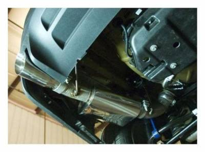 """SLP Performance - SLP Performance M31023 LoudMouth Stainless 3.0"""" Axle-Back Exhaust System"""