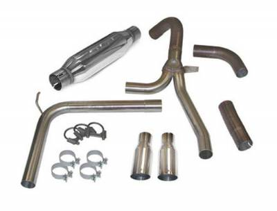 """SLP Performance - SLP Performance 31042A LoudMouth Stainless 3.0"""" Cat-Back Exhaust System"""