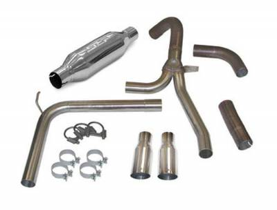 """SLP Performance - SLP Performance 31043A LoudMouth II Stainless 3.0"""" Cat-Back Exhaust System"""